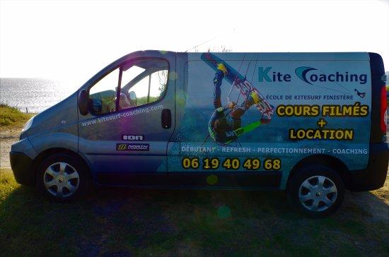 Kite Coaching: Nous choisissons le meilleur spot, dans le Finistère, en fonction des conditions météo