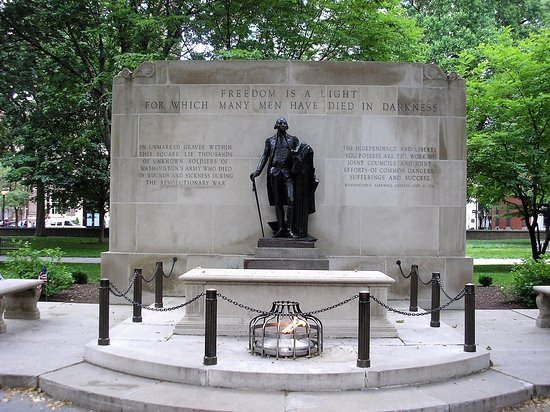 Tomb of the Unknown Soldier of the American Revolution