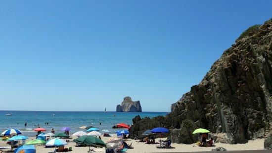 Iglesias, Italië: visuale dalla spiaggia