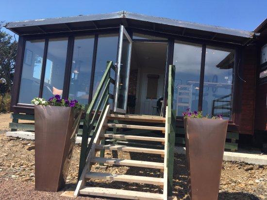 Gatehouse of Fleet, UK: Outside Base Camp Cafe