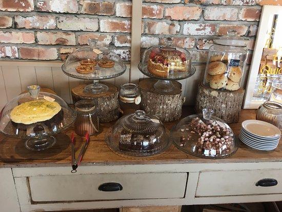 Gatehouse of Fleet, UK: Home baking selection