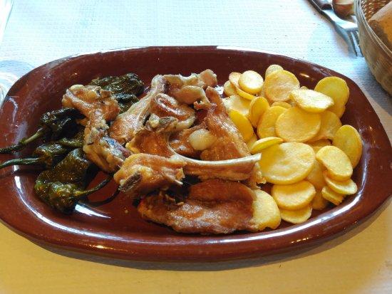 Navaleno, Spain: Cabrito frito