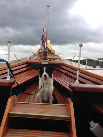 Coniston, UK: Yacht mascot