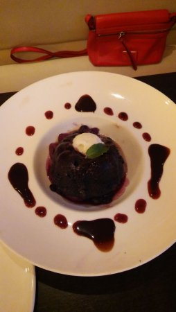Media, PA: Best chocolate desert ever with fresh mint leaf! relish!