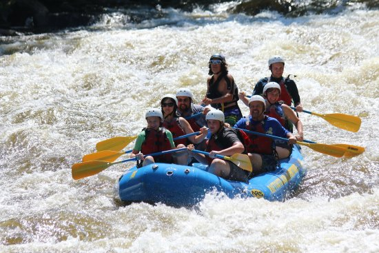 Raft Outdoor Adventures : Rafting With Guide James