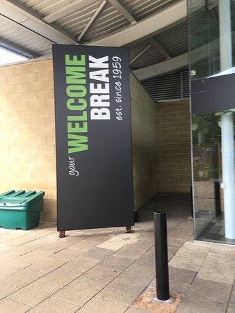 Waterstock, UK: Welcome Break Oxford