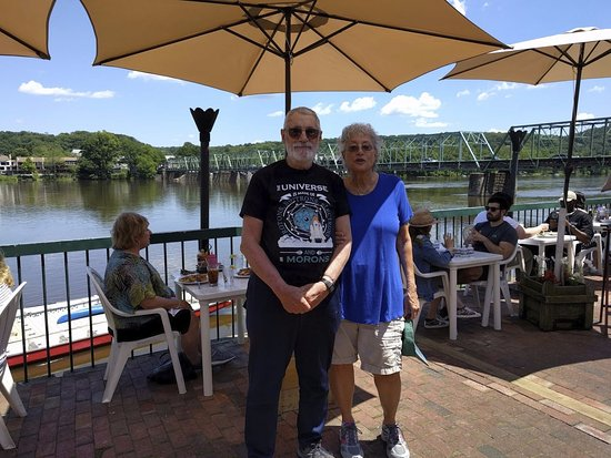 Here We Are At The Landing On The Delaware River In New Hope