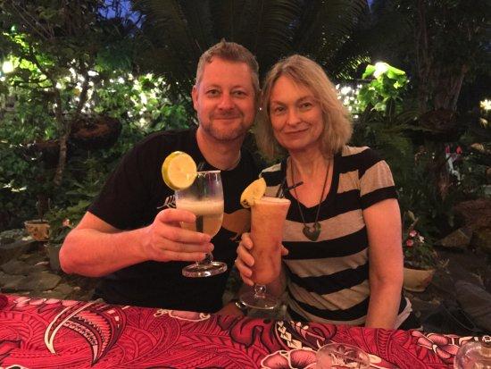 Arorangi, Islas Cook: Delicious cocktails