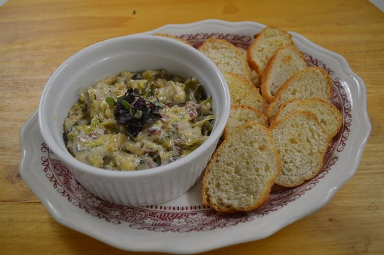 Black Mountain, Северная Каролина: Creamy Brussels Sprouts Dip makes a great appetizer