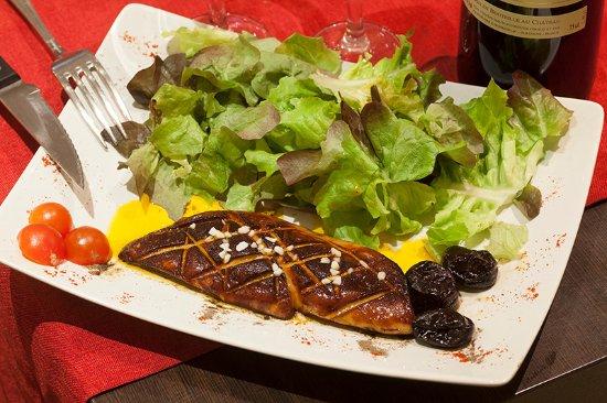 Domaine de Lintillac : Foie gras de canard poêle