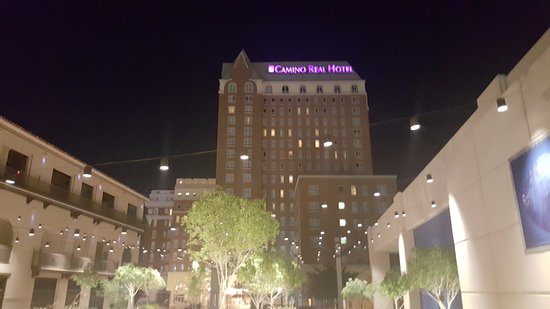 Camino Real El Paso: Hotel from across the street