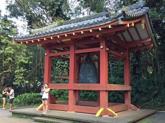 Kaneohe, HI: Sacred bell is 6 feet tall