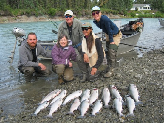 Soldotna, AK: The family that fishes together ...