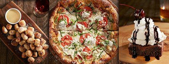 Warner Robins, GA: Pretzel Bites, Great White Pizza, and Brownie Sundae
