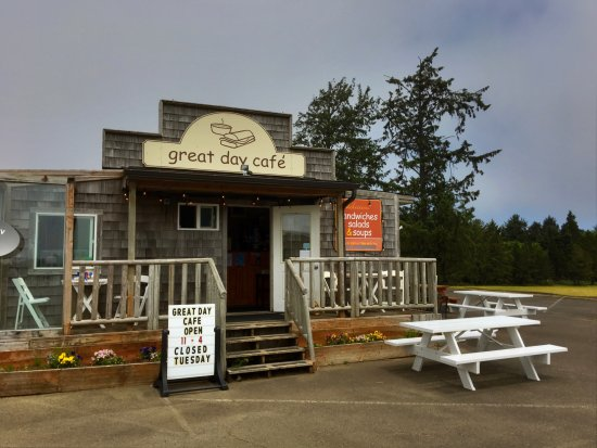 Ocean Park, WA: The great day cafe