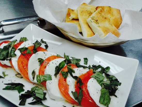 Germantown, MD: Caprese with homemade focaccia