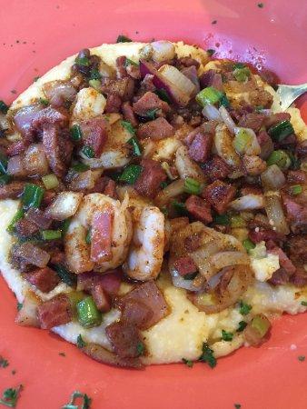 Holden Beach, NC: Shrimp and grits!