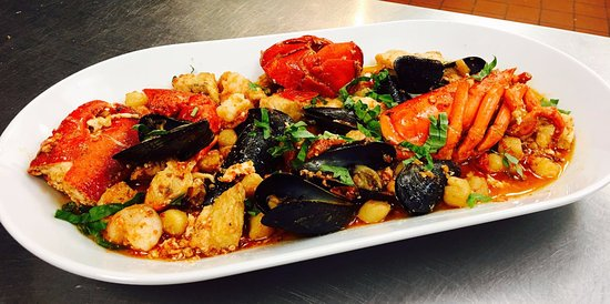 Germantown, MD: Zuppa di pesce - Soup fish with lobster, shrimps, mussells, clams, scallops