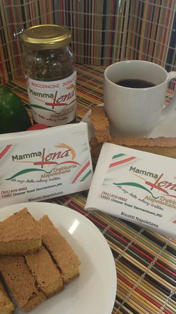 Germantown, MD: Mamma Lena Biscotti homemade