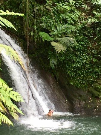 Parc National, Guadeloupe: Vue du cite