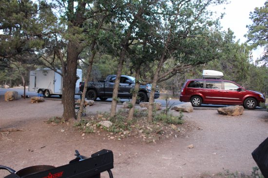 Mather Campground: Plenty of parking