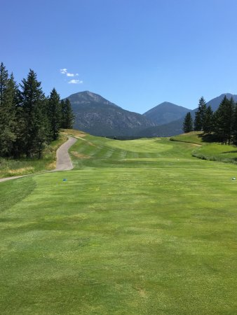 Invermere, Kanada: golf course