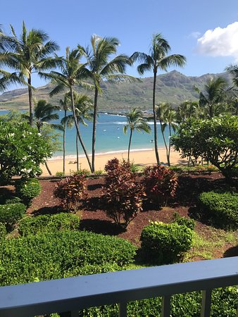 Marriott's Kaua'i Beach Club: view from our room