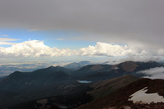 Pikes Peak: You will be IN the clouds
