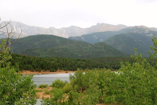 Pikes Peak: Crystal Lake at first checkpoint