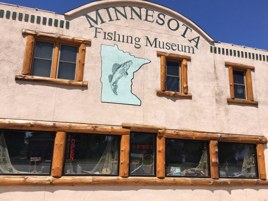 Little Falls, Миннесота: Welcome to the Minnesota Fishing Museum!