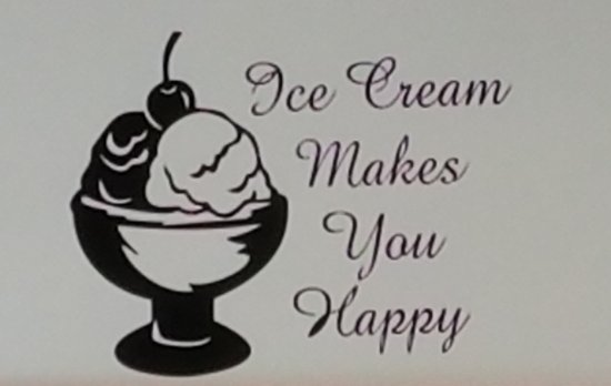Rocky Point Creamery: This kinda says it all, I think.
