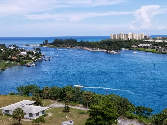 Jupiter, FL: View from the top of the lighthouse.