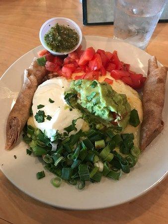 Seva Restaurant: Eggs Veracruz-so good!