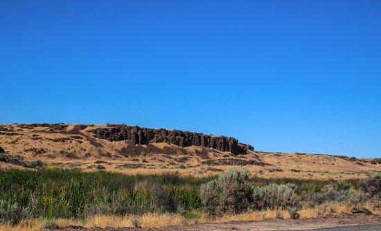 Quincy, WA: Interesting Landscape at Ancient Lakes