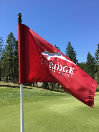 Invermere, Canada: on the green