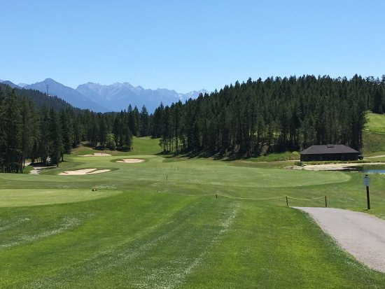 Invermere, Canada: on the course