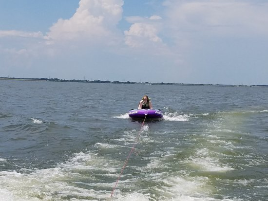 Malakoff, Τέξας: Summer Boat Fun on Cedar Creek Reservoir