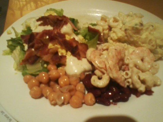 Golden Nugget Buffet : From salad bar