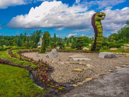 Saint-Lazare, Kanada: garden pepiniere Champ de reves