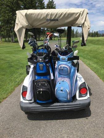 Fairmont Hot Springs, Canadá: golf course