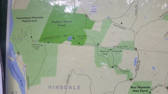 West Chesterfield, NH: There are many trails, which we were not able to do this time but castle ruins are right off the