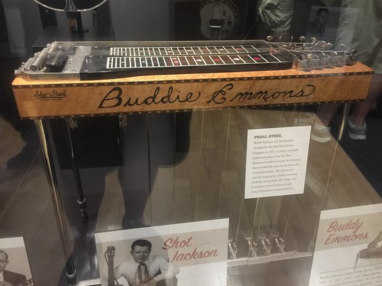 Country Music Hall Of Fame And Museum Buddy Emmons Steel Guitar