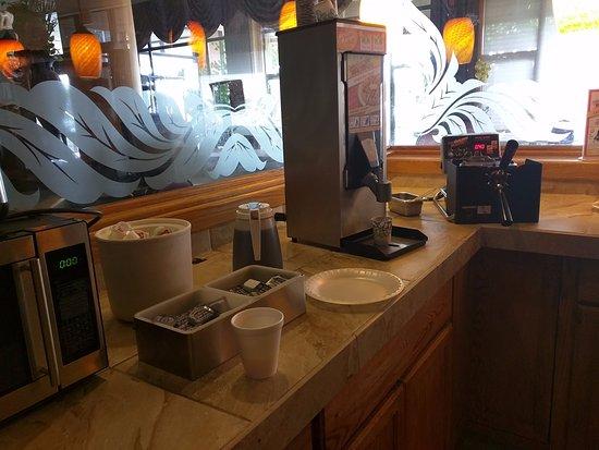 Richland, WA: Breakfast area