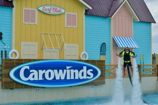 Manteo, NC: GRAND OPENING AT CAROWINDS NEW WAVE PARK