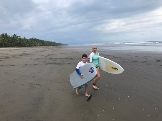 Esterillos Este, Costa Rica: Surfing Lessons from $50 pp  Request our full day from $150 pp Tour on Horses, Meals , Beach Hot