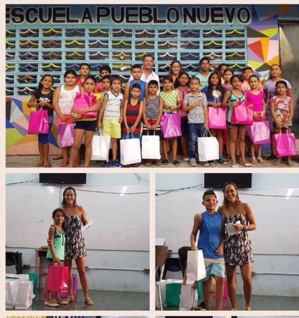 Esterillos Este, Costa Rica: We sponsor school supplies for low income families. Photo of last January 2017. Done this for 4