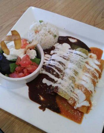 Hampton, GA: Trio Enchilada and an order of smooth quacamole