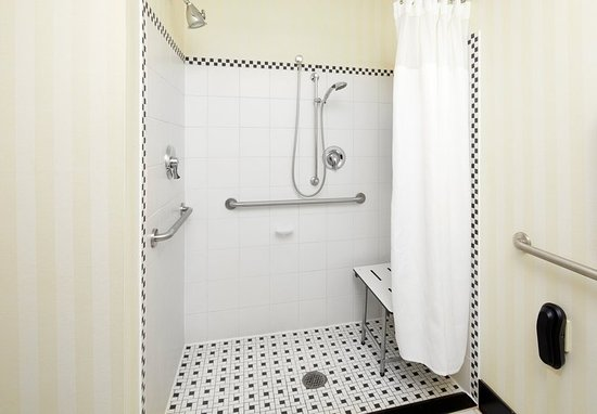 Cumberland, MD: Accessible Guest Bathroom - Roll-In Shower