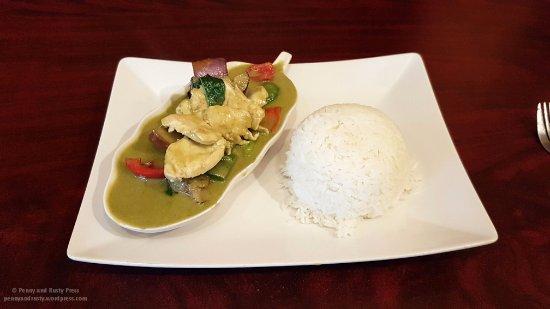 Thai box 2go: Green Curry Chicken