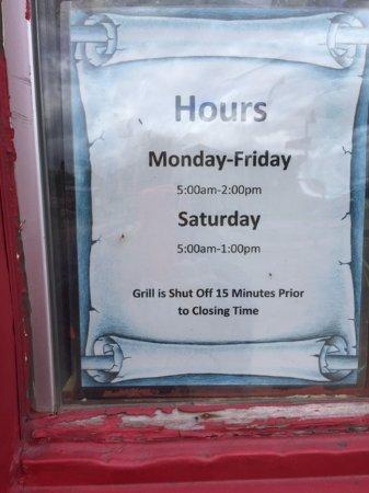 ลิตเทิลฟอลส์, มินนิโซตา: hours